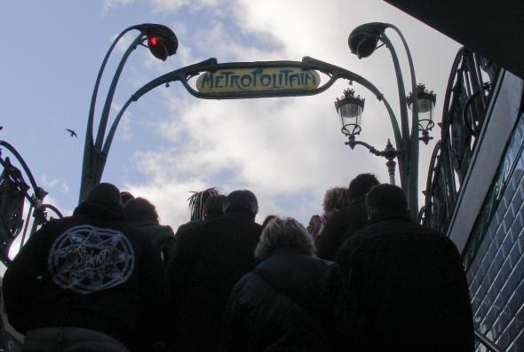 Metro Paris Exit