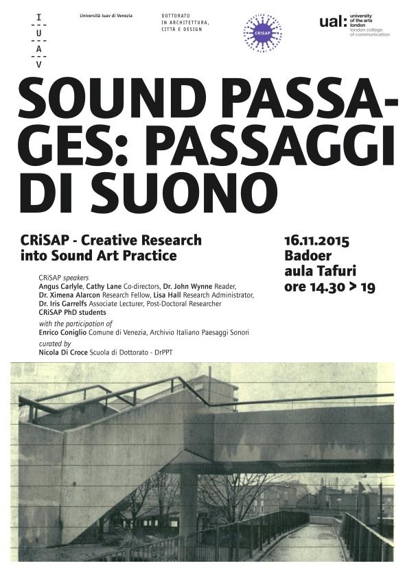 Sound Passages: Passage di Suono